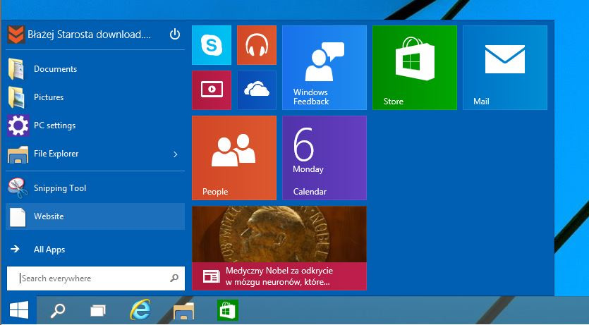 Windows 10 Preview: How to remove Start Menu and bring back Start Screen like Windows 8